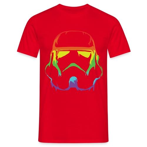 Pride Trooper - simple - Miesten t-paita
