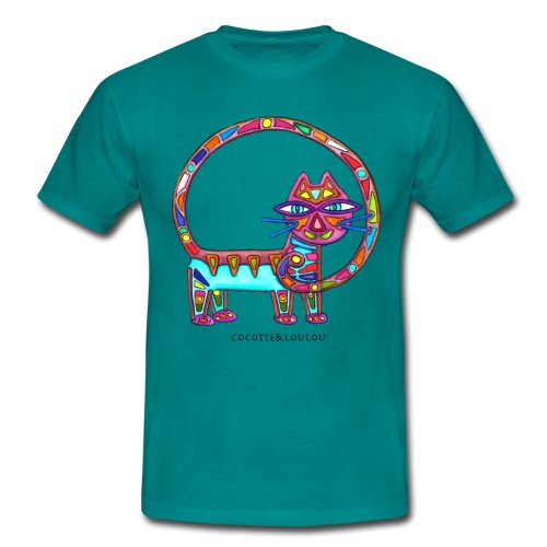 Fiboniccat - T-shirt Homme