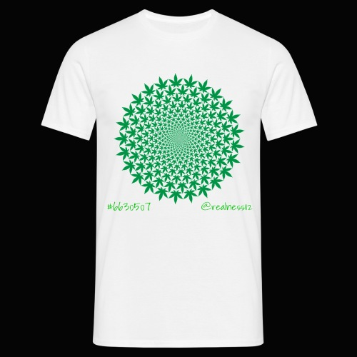 Geometric Cannabis!! Truth T-Shirts!! #Geometry - Men's T-Shirt