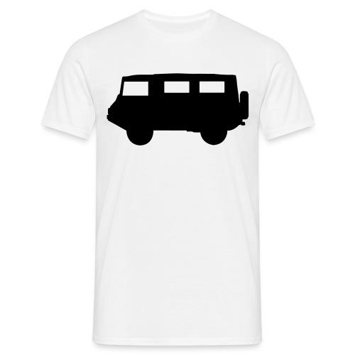 pikto seite2 sw o linien - Männer T-Shirt