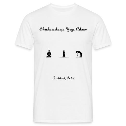 shankaracharya yoga ashram - Men's T-Shirt