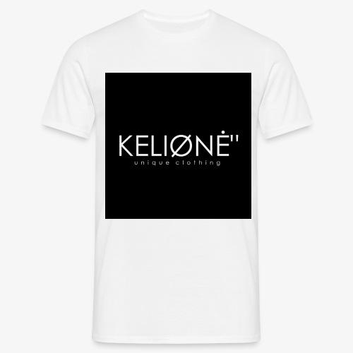 Black KELIØNĖ design - Men's T-Shirt