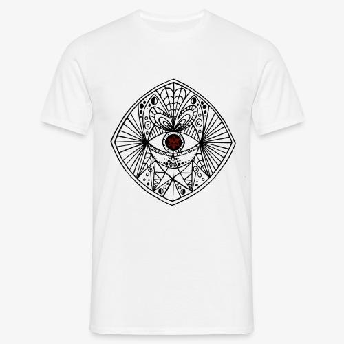 BEGONE EYE MANDALA - T-shirt Homme