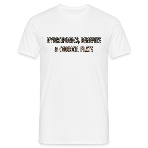 hydroponics benefits coucils flats - Men's T-Shirt