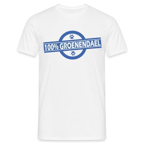 100 gro bleu - T-shirt Homme