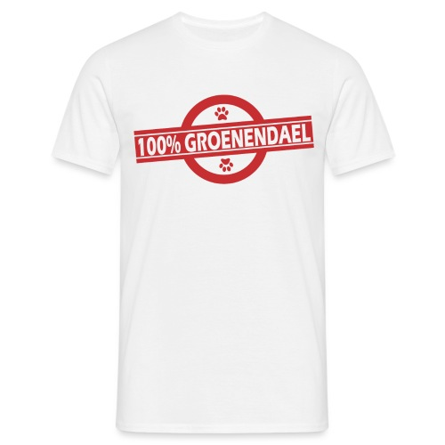 100 gro rouge - T-shirt Homme
