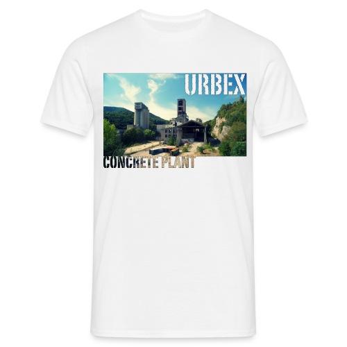 Concrete Wide - Männer T-Shirt