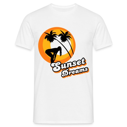 sunset dreams - Männer T-Shirt