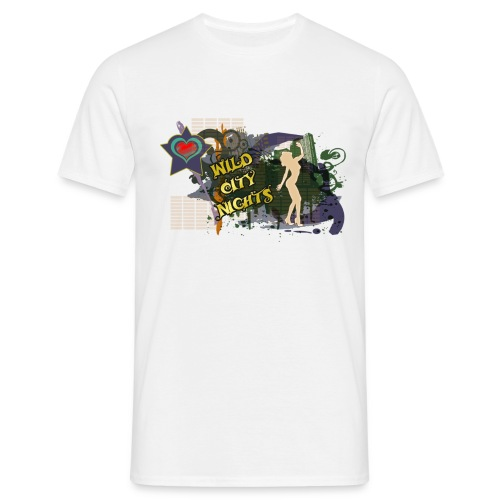 Wild city nights - Camiseta hombre
