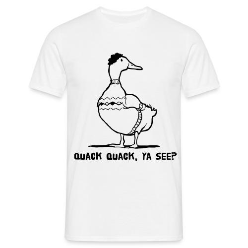 quack cosby - Men's T-Shirt
