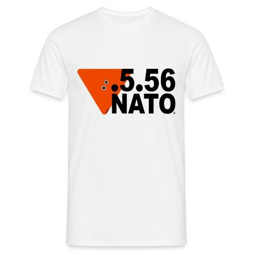 .5.56 NATO NOIR - T-shirt Homme