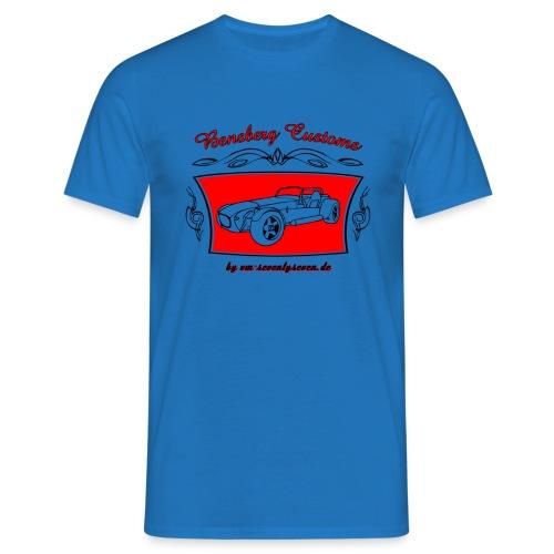 77 bc schwarzneu - Männer T-Shirt