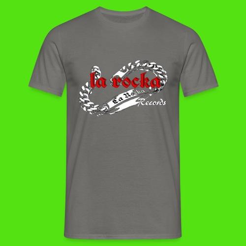 La Rocka black'n'red tsp - Men's T-Shirt