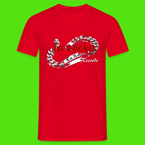 La Rocka black'n'red tsp - Men's T-Shirt