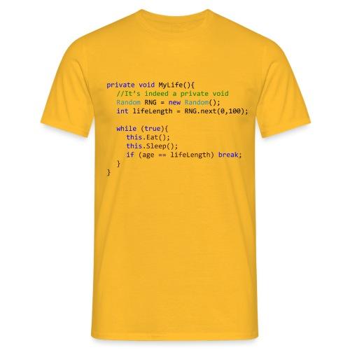 My Life C# - Maglietta da uomo