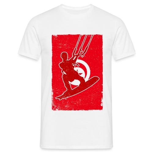 Kitesurfer Tunisia - Männer T-Shirt