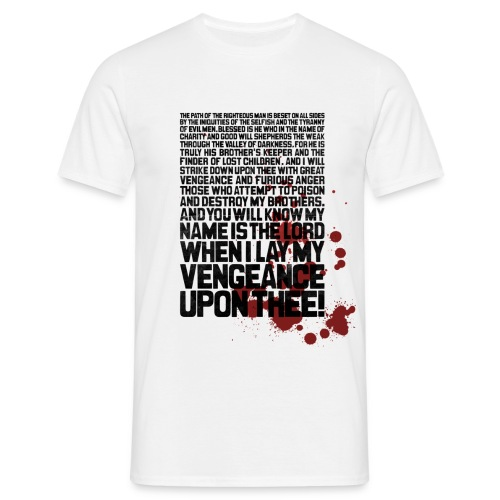 Bloody Ezekiel 25 17 - Men's T-Shirt