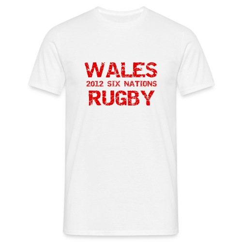 wales six nations - Men's T-Shirt