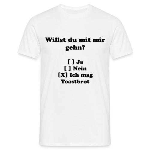 Ich Mag Toastbrot - Männer T-Shirt
