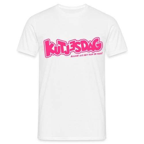 Kutjesdag - Mannen T-shirt