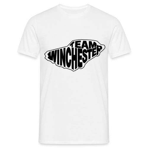 Team Winchester (vector) Hoodies & Sweatshirts - Men's T-Shirt