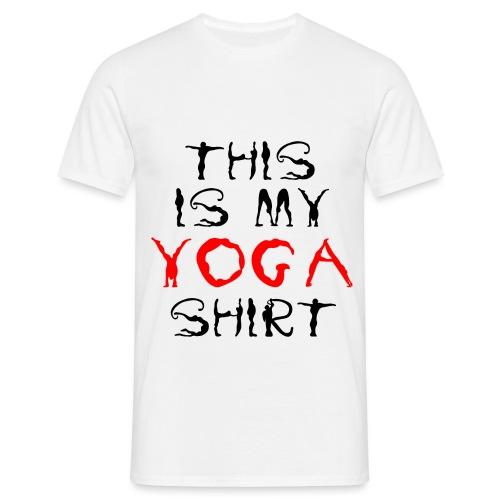 camicia yoga sport namaste spiritualità pace amore - Maglietta da uomo
