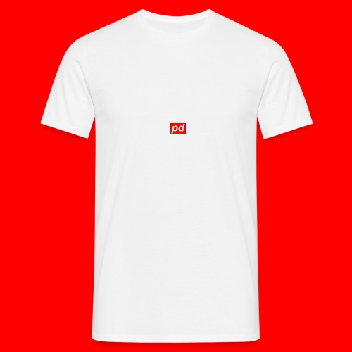 pd Red - Herre-T-shirt