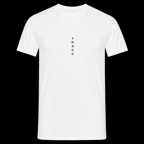 ENDUO black - T-shirt Homme