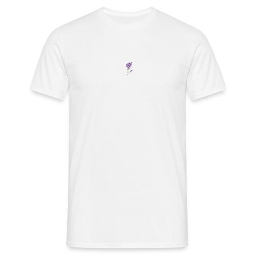 White Lavendel Shirt - Männer T-Shirt