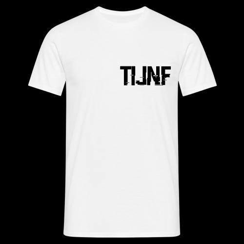 Zwarte TFG logo - Mannen T-shirt