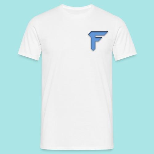 FluFFy Productions logo4 png - T-skjorte for menn