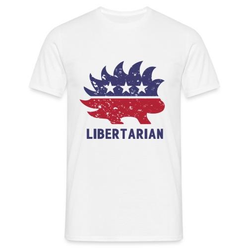 Libertarian porcupine - Koszulka męska