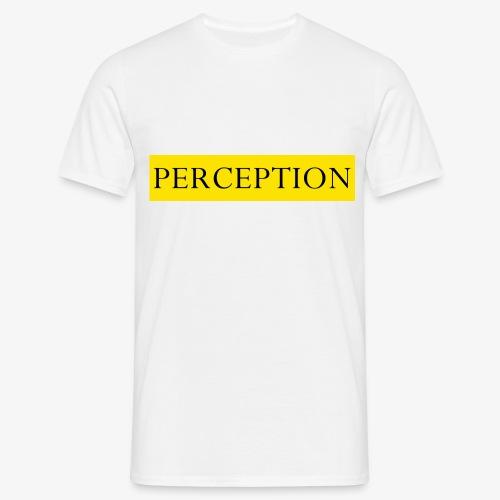 PERCEPTION CLOTHES JAUNE - T-shirt Homme