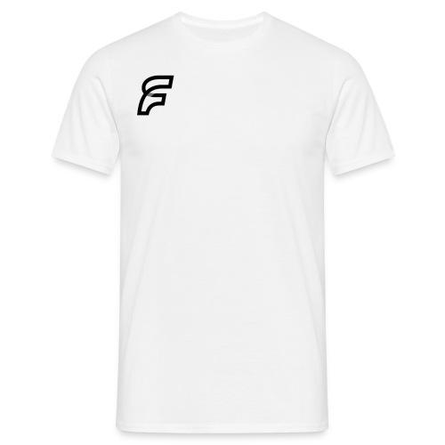 FaMe Icon Schwarz + Schrift - Männer T-Shirt