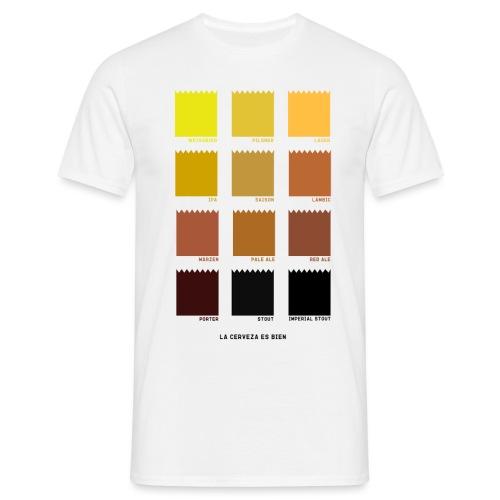 BEER COLOR - Camiseta hombre