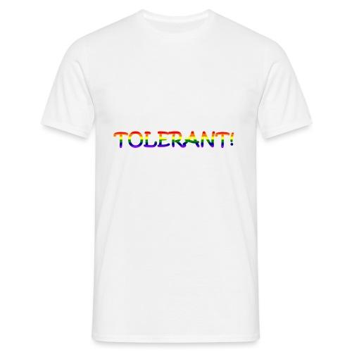 Tolerant Rainbow #1 - Männer T-Shirt