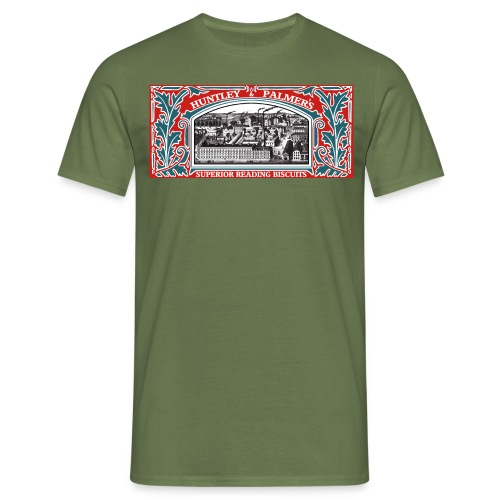 Huntley & Palmers Superior Reading Biscuit Factory - Men's T-Shirt