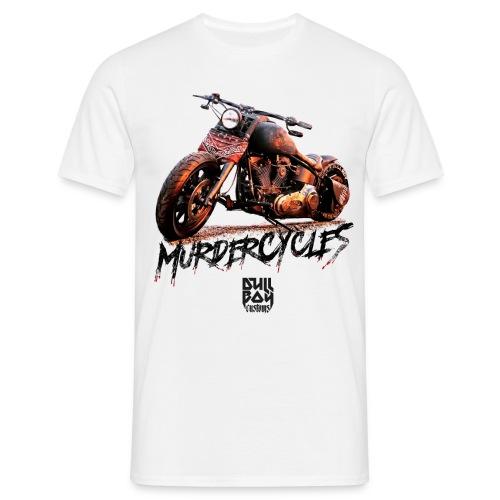 Murdercycles Softail - T-skjorte for menn