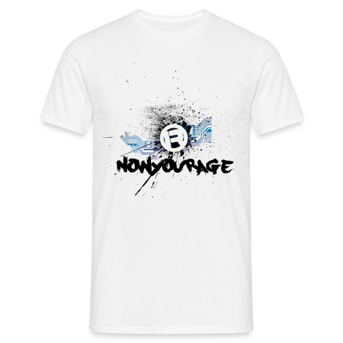nowyourage1 2 png - T-shirt Homme