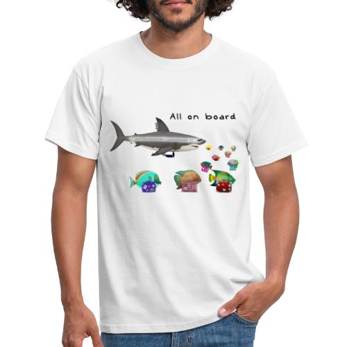 sharkoplane - Männer T-Shirt