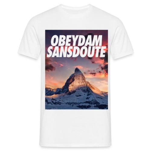 OBEYDAM SANS DOUTE - T-shirt Homme