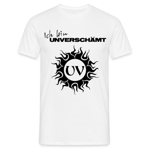 Ich bin UNVERSCHÄMT inkl Logo - Männer T-Shirt