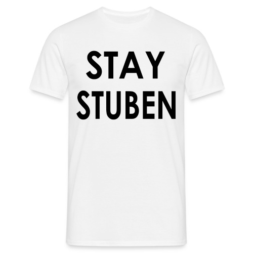 stay stuben black 4000 - Mannen T-shirt