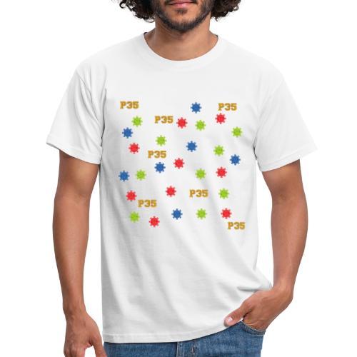 P35 Virus - Männer T-Shirt