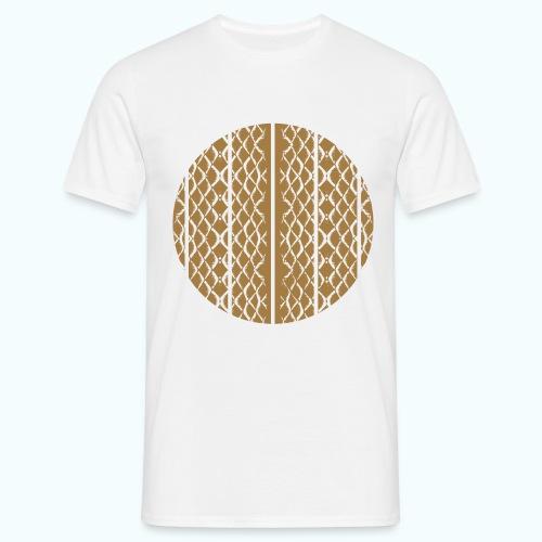 Geometric mermaid shed - Men's T-Shirt