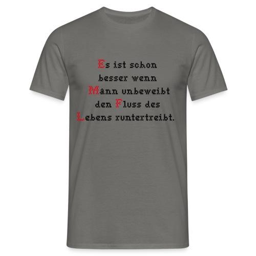 unbeweibt - Männer T-Shirt