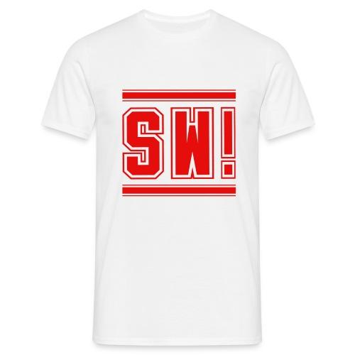LOGO SD auf rot 2 NEU K - Männer T-Shirt