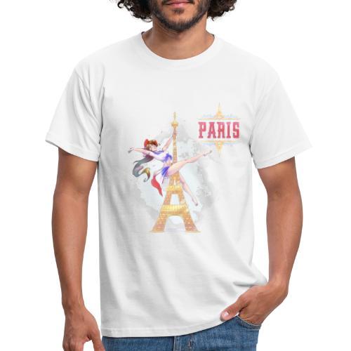 Pole Dance Paris Marianne - T-shirt Homme