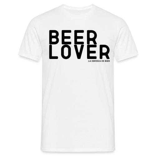 BEER LOVER - Camiseta hombre