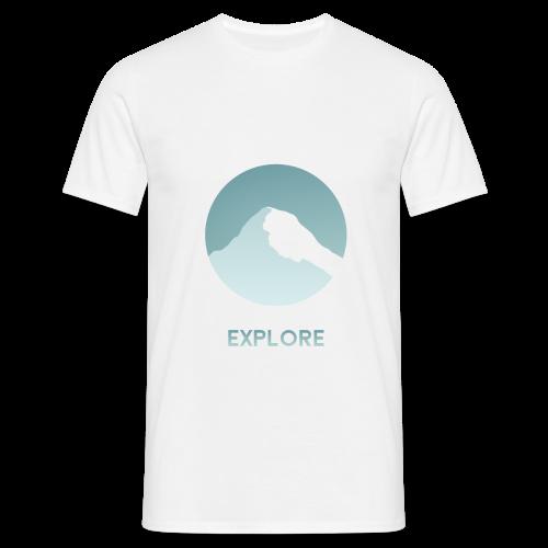 Explore - Mannen T-shirt